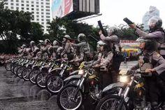 Polresta Depok Gelar Patroli Motor Gerak Cepat (PGMC)