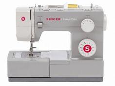 Macchina per cucire Singer Heavy Duty 4411 - 11 punti disponibili: 6 utili, 4 decorativi, 1 occhiello.