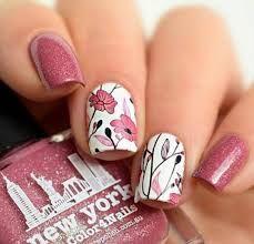 Resultado de imagen para nails with flowers