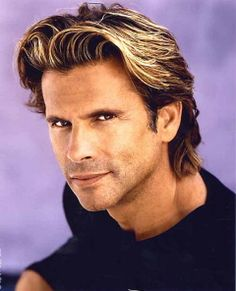 Lorenzo Lamas - Google Search - so handsome before the ponytail.