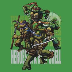 Ninja Turtles Art, Teenage Mutant Ninja Turtles, Lego Batman, Lego Lego, Lego Ninjago, Ninja Turtle Bedroom, Turtles Forever, Cartoon Turtle, Evil Demons