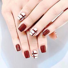 Cute Acrylic Nails, Cute Nails, Nail Shapes Squoval, Korean Nail Art, Work Nails, Gel Nail Art Designs, Nails Only, Pin On, Luxury Nails