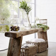 Antibes Vase - Tall | The White Company