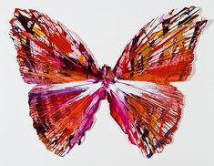 artist Damien Hirst butterfly - Google Search