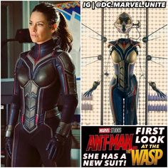 "11.3k Likes, 87 Comments -  GEEKS UNITE  (@dc.marvel.unite) on Instagram: ""NEW #WASP SUIT! Here's our First Look at #HopeVandyne Suited Up as #TheWasp from the upcoming…"""