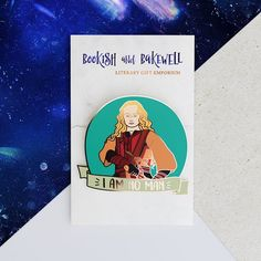 Feminist pin - Enamel pin - Feminist - Tolkien pin - I Am No Man - LOTR - Lord of the Rings - Enamel pins - Tolkien - Bookish and Bakewell