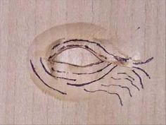 Eye Carving Tutorial Part 1 - YouTube