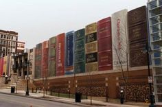 This is the public library in downtown Kansas City, Missouri!