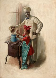 willism cahill painting   cream of wheat ad