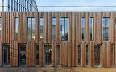 Nanterre, France  Primary school and Kindergarden Lucie Aubrac  Dietmar Feichtinger Architectes