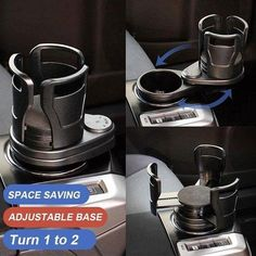 Car Holder, Drink Holder, Car Console, Adjustable Base, Water Bottle Holders, Cushion Pads, Cool Gadgets, Multifunctional, Cool Things To Buy
