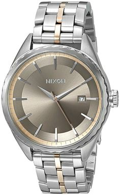 Nixon Women's A9342215-00 Minx Analog Display Japanese Quartz Silver Watch A sophisticated Nixon watch with polished and matte links. Notched bezel. The brushed dial has  Read more http://cosmeticcastle.net/nixon-womens-a9342215-00-minx-analog-display-japanese-quartz-silver-watch/  Visit http://cosmeticcastle.net to read cosmetic reviews