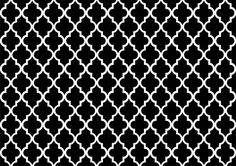 moroccan pattern black and white - Google Search