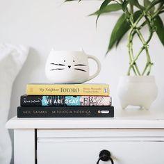 Grab a book or a cup of tea or both  Link in bio! @melinwonderland