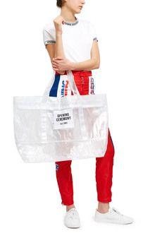 large pvc mesh tote bag