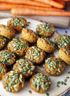 15 Best Pumpkin Recipes of All Time! - The Effortless Chic- Healthy Carrot Pumpkin Muffins via Yay for Food-