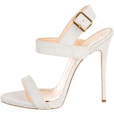 Pre-owned Giuseppe Zanotti Sandals (16,205 INR) ❤ liked on Polyvore featuring shoes, sandals, neutrals, leather strap sandals, ankle tie sandals, ivory shoes, giuseppe zanotti sandals and ankle wrap sandals
