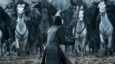 Jon Snow Cavalry charge
