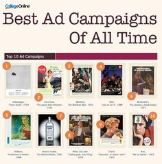 Infographic: The Best Ad Campaigns And Slogans Of All Time