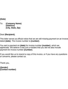Send this letter to a potential client, informing him/her ...
