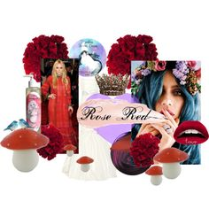 """Rose Red"" by lucy-rose-shepherd on Polyvore"