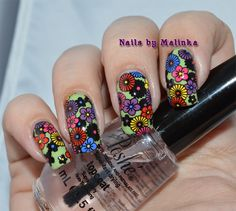 Nails by Malinka: Born Pretty plate BP-83