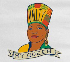 An illustration of the Queen of Hip-Hop Ms.Latifah. Add it to your closet before Monday June 20th at www.mymainmanpat.com #QueenLatifah #UNITY #MyMainManPat #BeckiKozel