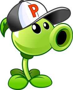 Plants vs Zombies 2 Peashooter(Costume)online-A Th by illustation16 on DeviantArt