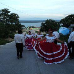 Traje Flores peten Guatemala