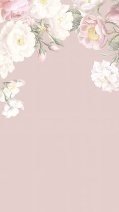 Pin by Manar AlM on meee in 2021 | Floral wallpaper iphone, Flower background wallpaper, Flower backgrounds