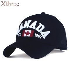 XTHREE brand canada letter embroidery Baseball Caps Snapback hat for Men  women Leisure Hat cap wholesale 90c3cd77488
