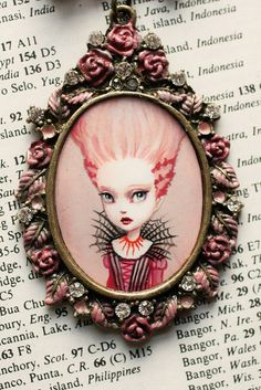 Marie Zombie by Mab Graves by mab graves, via Flickr