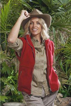 UK I'm a celebrity Jungle photo shoot Cheryl Gascoigne