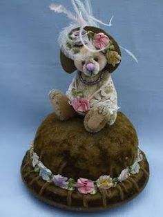 bear pincushions  -  any kind of little bears are cute :)