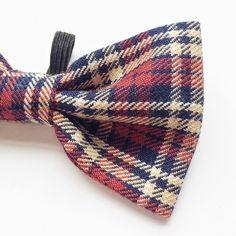 One off tartan number  #bowtie #dog #dogbowtie #instadog #dogsofinstagram #design #designer #etsyshop #tartan #plaid by dogandbeau