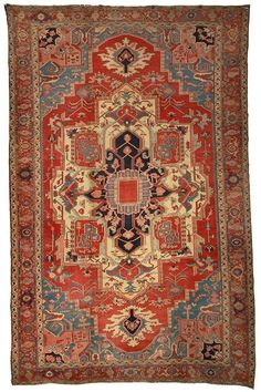 Serapi Antique Rugs Number 14750, Antique Persian Rugs | Woven Accents