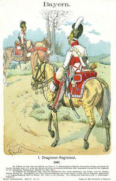 Bayern: 1.Dragoner-Regiment. 1807.