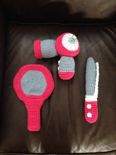 Crochet Hair Styling Toy - Childrens Hair Salon Toy Set