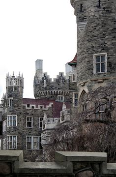 Casa Loma was constructed between 1911-1914 for Sir Henry Pellatt by the architect A. J. Lennox. It is one massive house! Rightfully refered to as a castle. I believe this place is more than three times the size of the Spelling Mansion in California to give you a comparison to just how incredibly massive this place is. Toronto, Canada