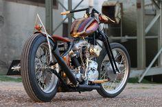#Thunderbike Top Chop (1957 #Harley Davidson EL Panshovel)