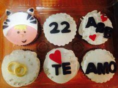 Aniversary Cupcakes