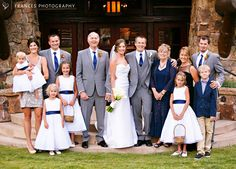 The whole Fam with Frances Photography