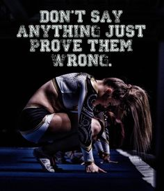 Quote submitted by anonymous : Cheer Dad Photography