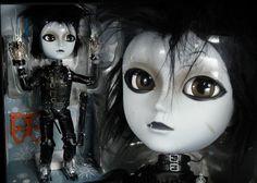 Edward Scissorhands Taeyang Doll Tim Burton Johnny Depp | eBay