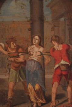 The 'Spanish' Inquisition came to Potosi, as usual women were on the receiving end...