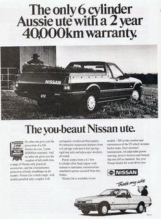 Nissan Ute 1989