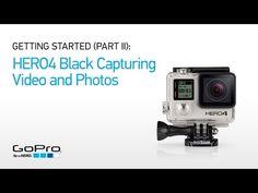 GoPro - HERO4 Black camera - 2x the performance. 4K30, 2.7K50 and 1080p120 video.