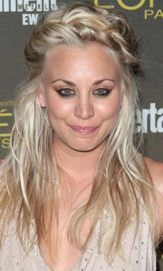 Kaley Cuocos Braided Half-Up, Half-Down Look Is One Of Our Fave Festival Hairstyles, 2012