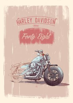 Harley Davidson Forty Eight 2016.
