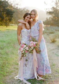 These bouquets - PLUM PRETTY SUGAR dresses